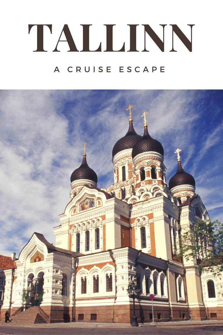 If you are one of the lucky cruise goers to stop in Estonia's capital, Tallinn, on the Baltic Sea, here is what you should not miss