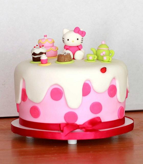 Chá da Hello Kitty by The Cookie Shop, via Flickr