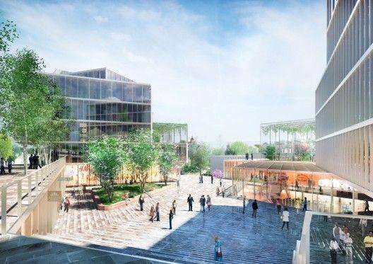 Red Hill Rise Proposal by Maxwan and MS architekti
