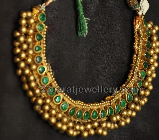Heritage Kundan Necklace | Jewellery Designs