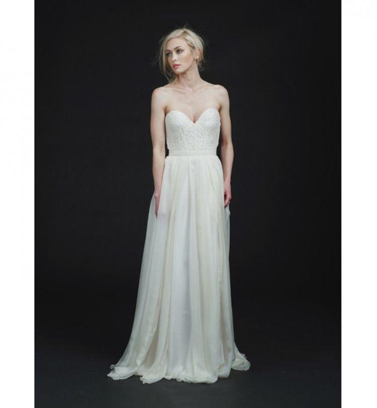 Robe de mariée 2016 : la robe de mariée bustier de Sarah Seven ...