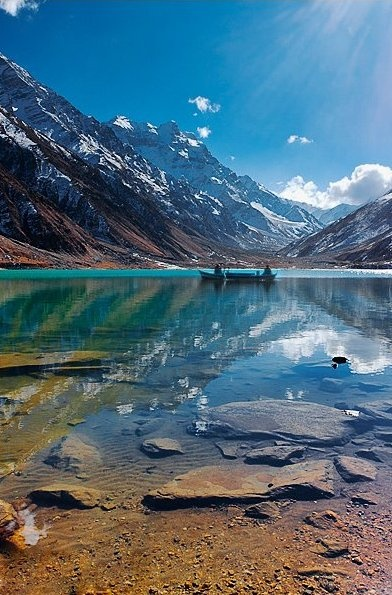 Lake Saif-Ul-Mulook, Naran, Pakistan. - #Amazing #Beautiful