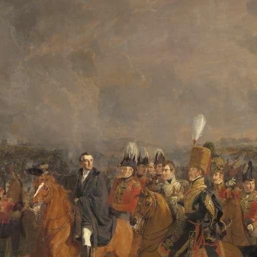 The Battle of Waterloo, Jan Willem Pieneman, 1824 - Search - Rijksmuseum