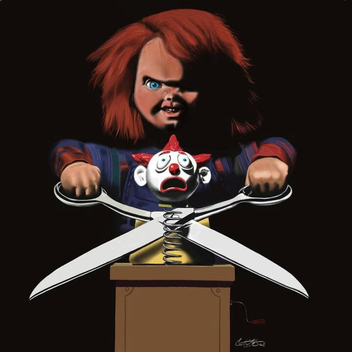 """Chucky, the reason no child will ever want a """"Good Guy Doll"""""""