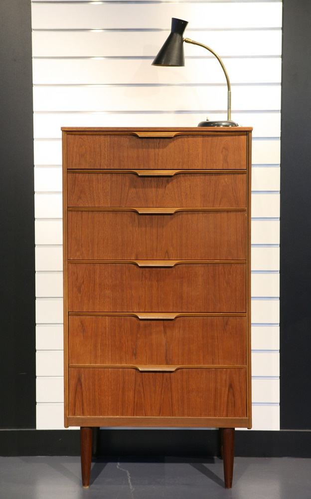 This is so perfect for our Mid-Century Modern home....CHIFFONNIER - COMMODE EN TECK Design Scandinave, Années 60 - REF.1045
