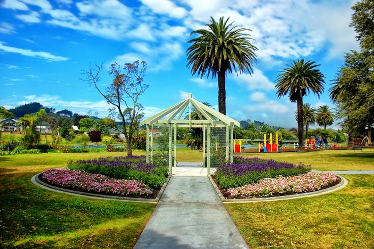 gisborne pictures of the botanical gardens off Aberdeen Rd