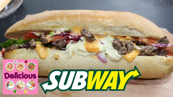 Homemade Subway Beef Sandwich Recipe - How to make subway sandwich with ...