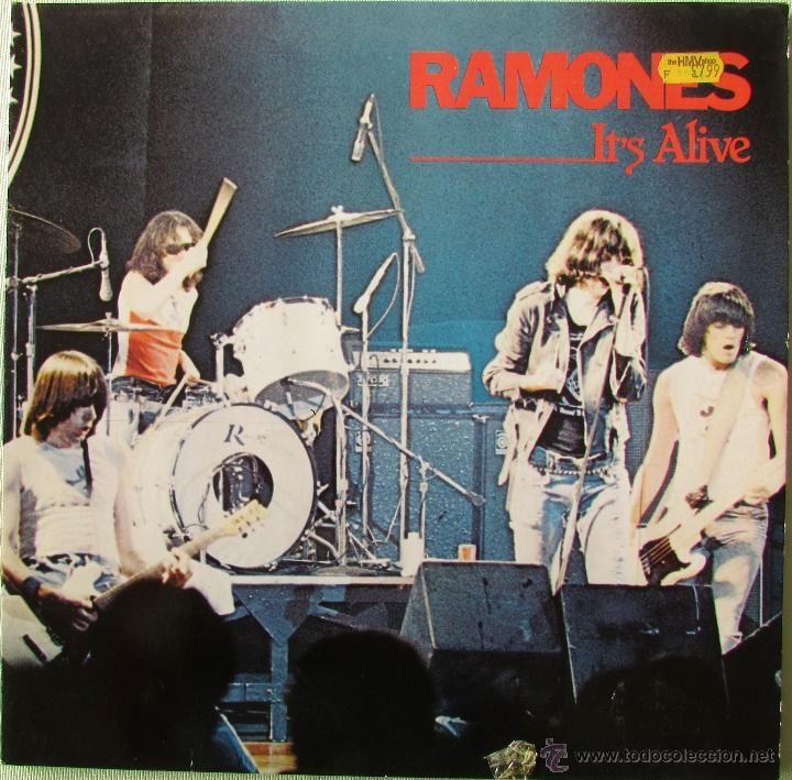 RAMONES. IT´S ALIVE. 1979. SIRE RECORDS (2SRJ 6074) (Música - Discos - LP Vinilo - Pop - Rock - Extranjero de los 70)
