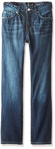 7 For All Mankind Little Boys Toddler The Slimmy Jeans Dark Indigo Los Angeles Dark 2T ** Visit the image link more details. Note:It is affiliate link to Amazon.