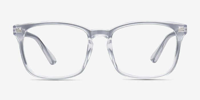 Uptown Clear Plastic Eyeglasses from EyeBuyDirect. A fashionable ...