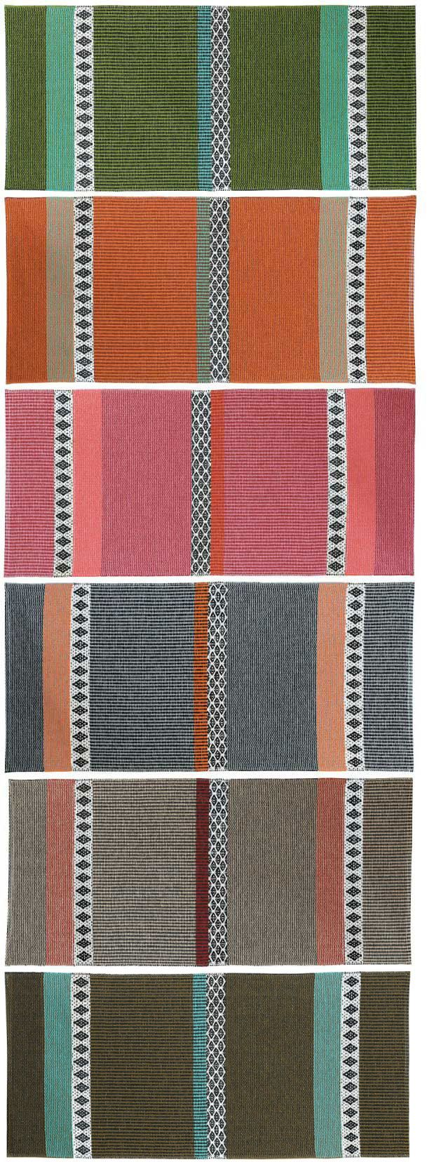 Stockholm Savanne Rug Machine Washable And Drip Dry 50% Recycled Plastic  Strips