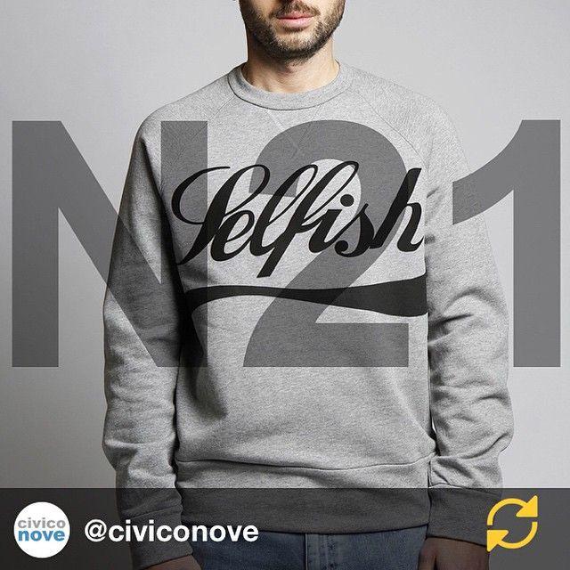 Alessandro Dell'Acqua: RG @civiconove: @n21_official MAN #ss15 Now in store and on our shop online civiconove.com #civiconove #selfish #numeroventuno #n21 @dellacqua #regramapp