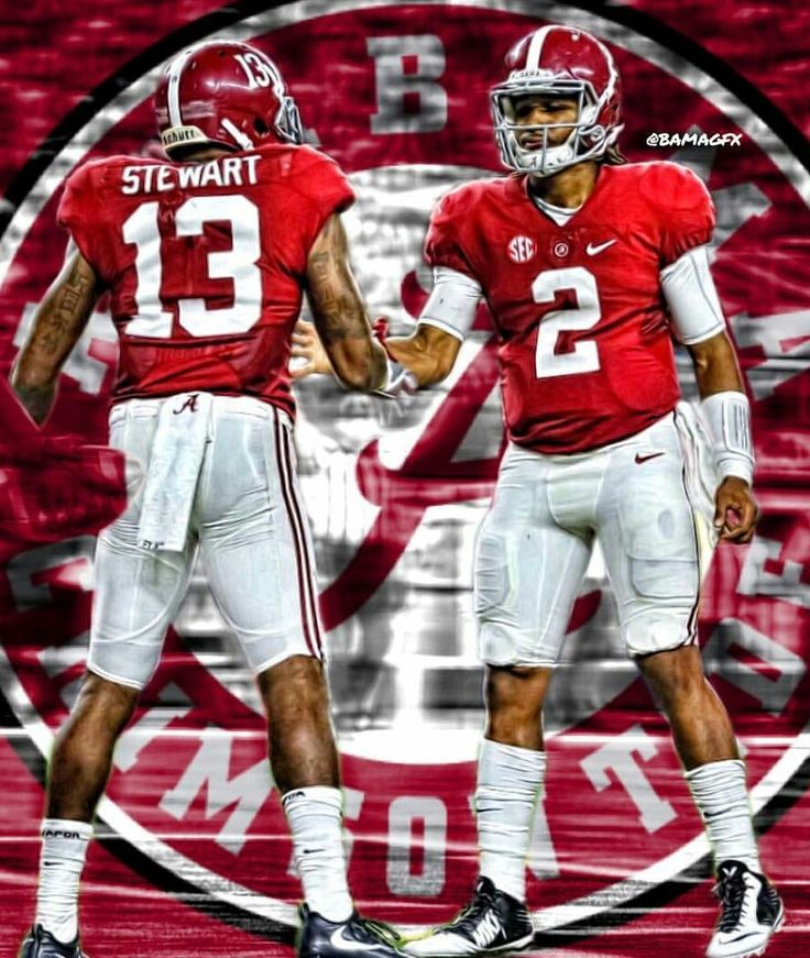 ArDarius & Jalen grafix | Bama 52 USC 6 in Arlington, Texas. September 3rd…