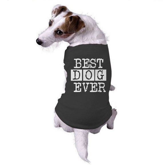 Best Dog Ever Dog T Shirt Clothes For Dog Cute Dog Clothes