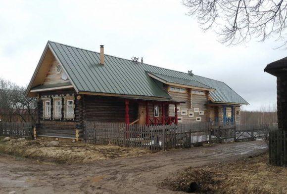 Дом-сарай по-русски