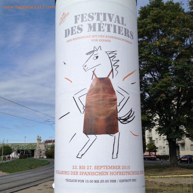 :-) Hermès Festival des Métiers - 22-27. September 2015, Wien, Vienna, Vienne / free entry! :-)