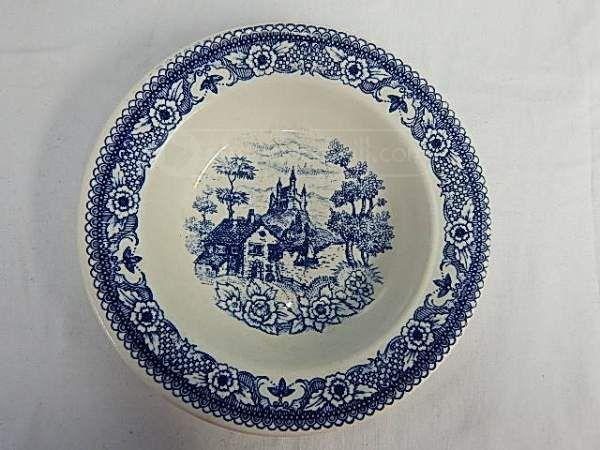 shopgoodwill.com: Lozapenco made in Chile- soup bowl - castle scene