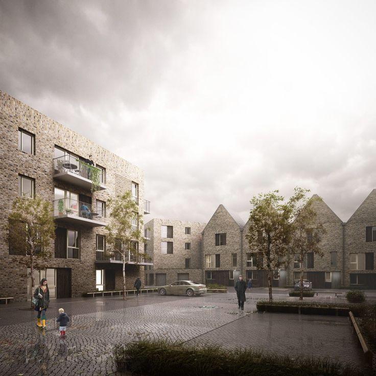 Hawkins\Brown Designs Housing Scheme in Rotherhithe