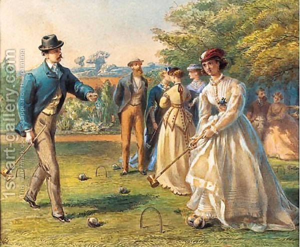 Croquet Game : The Croquet Game by William Gale