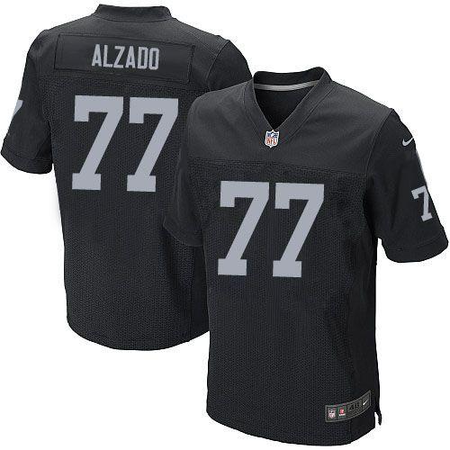 01f3a547c Lyle Alzado Men's Elite Black Jersey: Nike NFL Oakland Raiders Home #77 | OAKLAND  RAIDERS | Oakland Raiders, Raiders, Nfl oakland raiders
