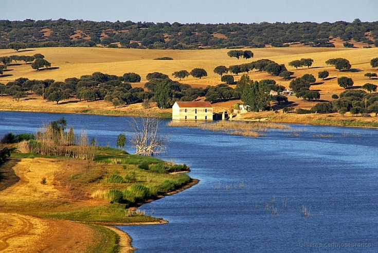 The Guadiana River in Juromenha - Alentejo