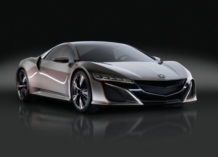 Acura NSX debutes as Honda NSX Concept Car at the 2013 Geneva Motor Show