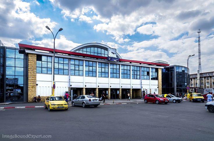 gara constanta, railway station, bahnhof, by Angelica Vaihel