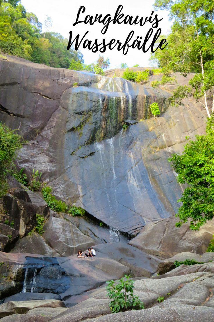 Die schönsten Wasserfälle der malayischen Insel Langkawi.