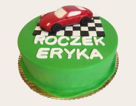 Torty Kraków Tort urodzinowy - Cukiernia Gateau Tort z autem #cake, #tort, #auto, #urodziny,  www.cukierniagateau.pl
