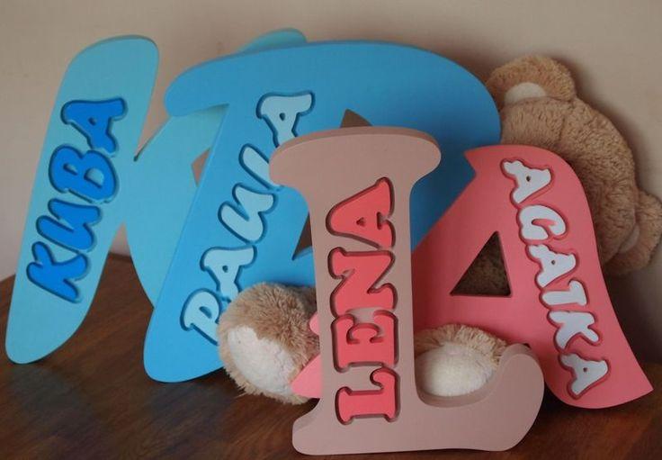 Litera z imieniem. w vitro4u na DaWanda.com