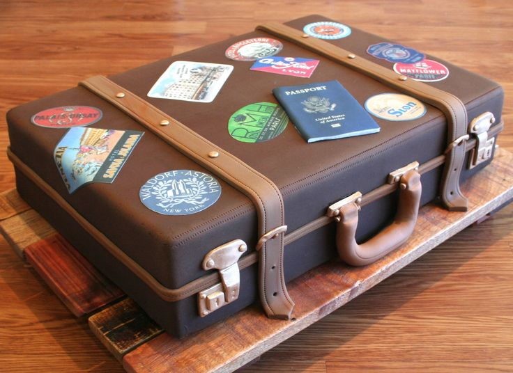 Suitcase is actually a cake. WOW!!! . . . . . . Great in conjunction with…