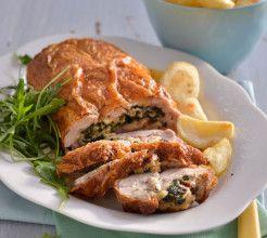 Stuffed Chicken Roll #Chicken #Recipe #SouthAfrica