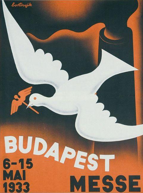 By Sándor Bortnyik (1893-1976), 1932, Budapest Messe.