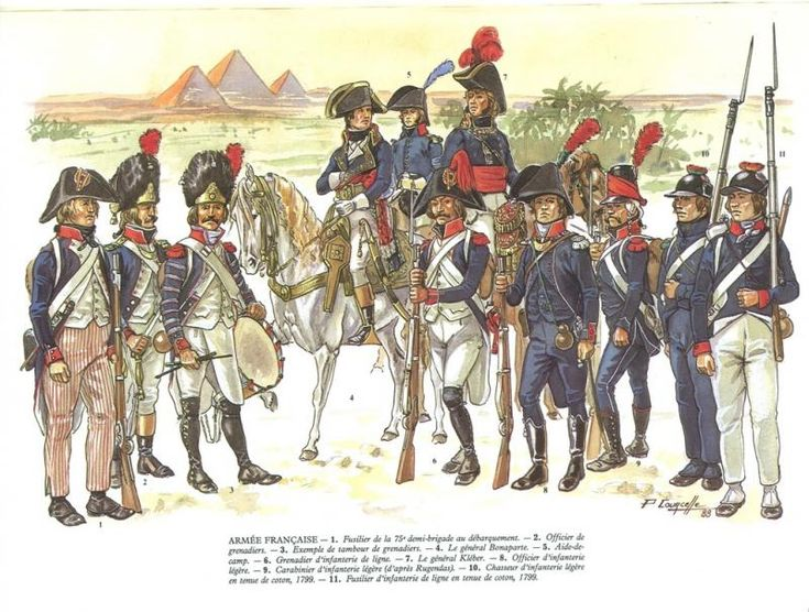 French army la campagne d'Egypte