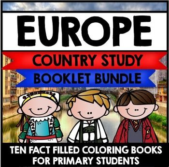 {Europe Country Study, Europe Mini Book, Europe Continent Study, Europe Study, Europe Research, All About Europe, Europe Project, Europe Facts, Europe Unit, Poland, Germany, Norway, England, Italy, Ireland, Spain, Sweden, Russia, France}This giant bundle of Country Study Mini Book resources currently contains ten different Country Study Mini books all about Europe.