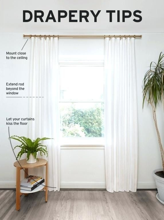 Architecture Hanging Sheer Curtains Pictures Of Different Ways To