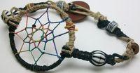 How to Make a Dream Catcher Bracelet | wasabifashioncult.com