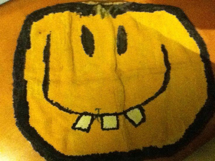halloween, he's got a  happy face