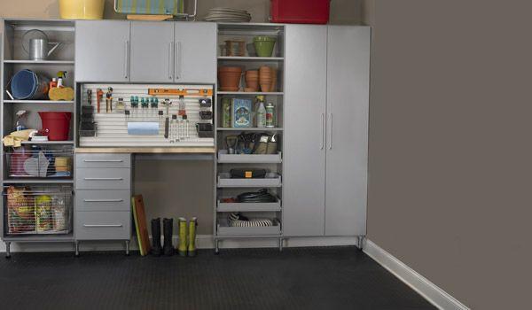 Garage cabinetry in Raincloud