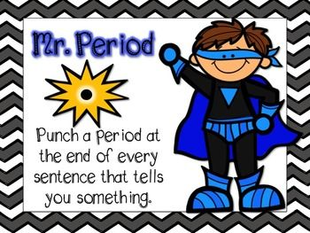 """FREE SUPERHERO WRITING POSTERS!.. Follow for Free """"too-neat-not-to-keep"""" teaching tools & other fun stuff :)"""