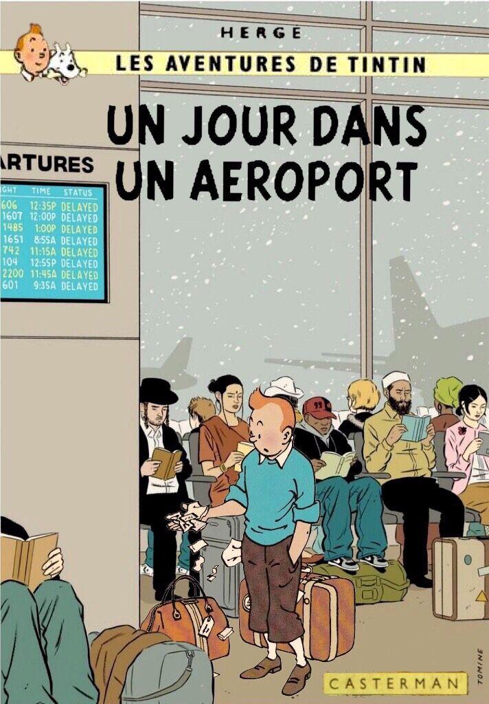 Un jour dans un aeroport
