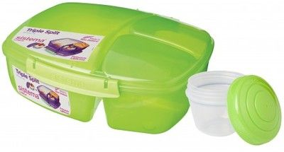 SISTEMA LunchBox 3Komory Jogurt Triple Split