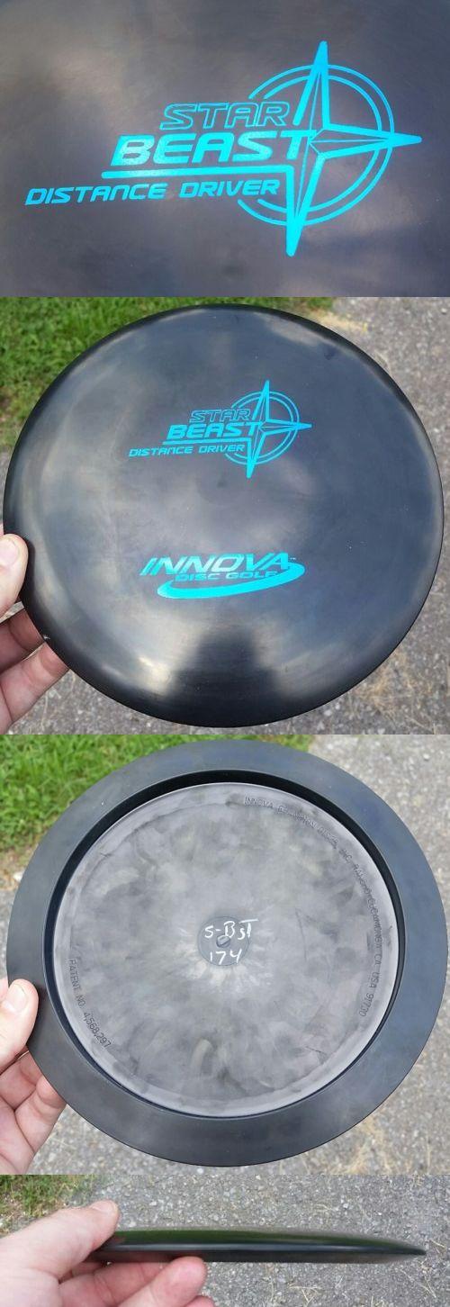 Disc Golf 20851: Rare! Black S-Bst Innova Star Beast - 174 Grams, Pfn, Oop, Patents, Beauty! -> BUY IT NOW ONLY: $49.99 on eBay!