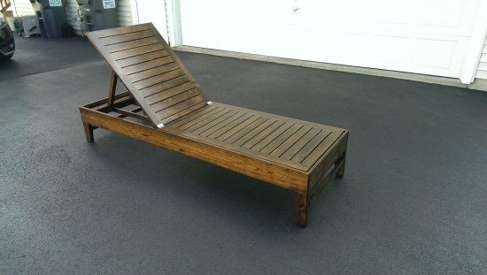 Adirondack Chaise Lounge Chair Plans Woodworking
