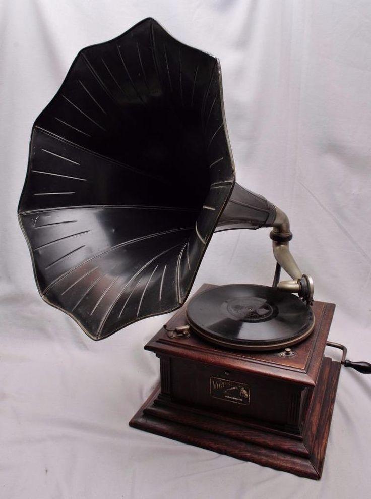 Antique RCA Victor III 3 (VIC-III) Phonograph Talking ...