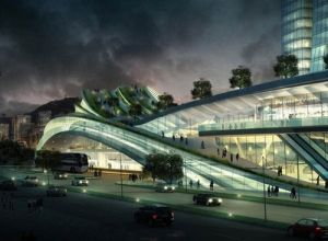 2015 Express Rail Link West Kowloon Terminus, Hong Kong and Beijing, China, Railway Station, Futuristic Architecture, Andrew Bromberg by FuturisticNews.com