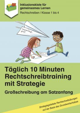 Daily 10 minutes spelling training: capitalization at the beginning of sentences