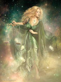 a deusa da justiça