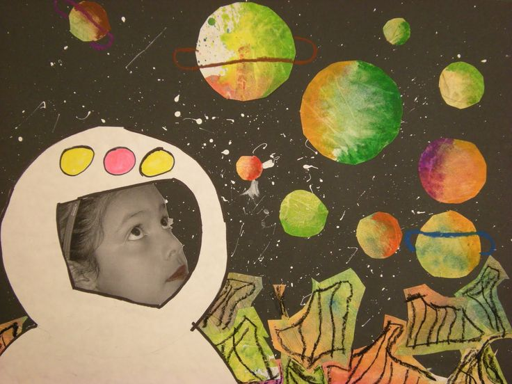 WHAT'S HAPPENING IN THE ART ROOM??: 3rd Grade Outer Space