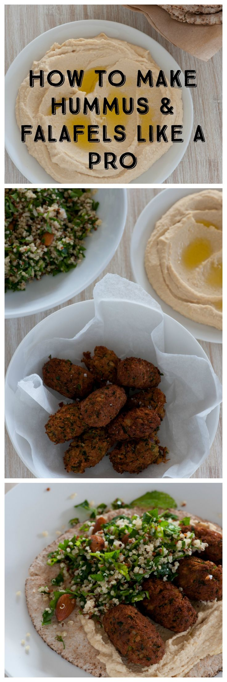 Hummus is such a wonderfully versatile condiment. I could happily eat it for every meal. It's lovely on it's own with some flat bread. It's also wonderful as a sauce or a sandwich spread. It's pairs wonderfully with lamb but it's soul mate is well and truly fresh falafels, hot from the pan.